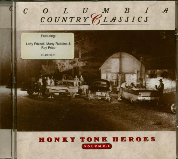 Honky Tonk Heroes Vol.2 (CD)