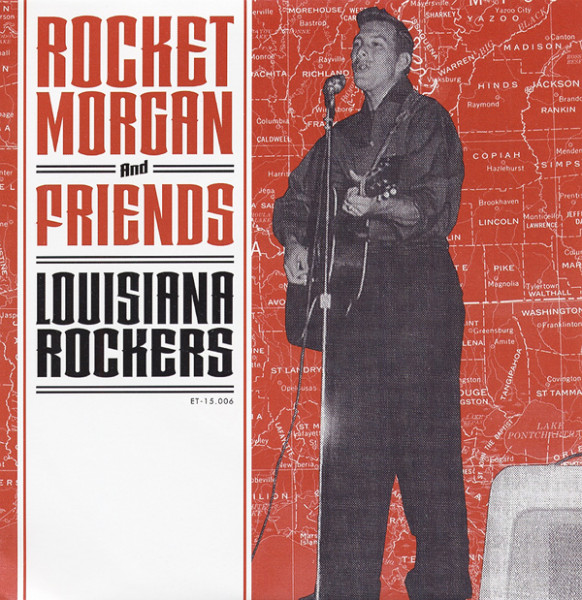 Louisiana Rockers 7inch, 45rpm, EP, PS