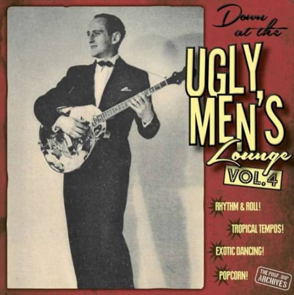 Down At The Ugly Men's Lounge, Vol.4(LP & CD, 10inch)
