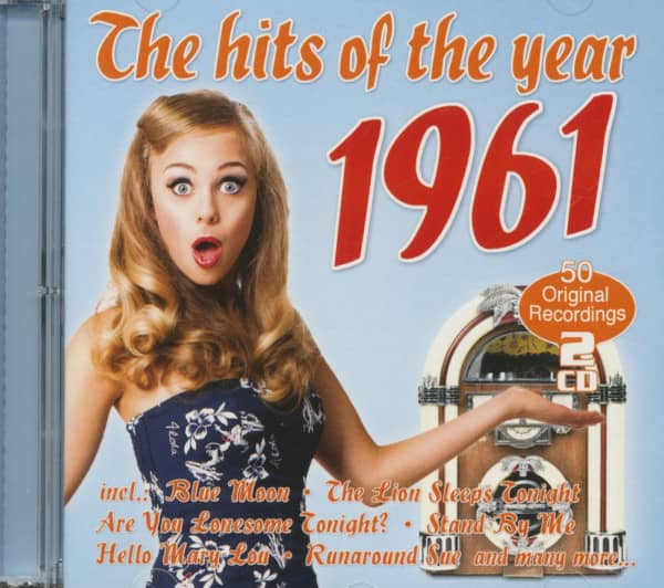 The Hits Of The Year 1961 - 50 Original Recordings (2-CD)