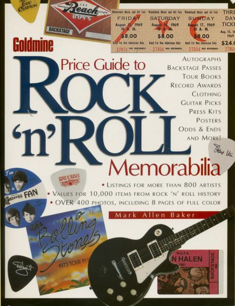Goldmine - Goldmine Price Guide to Rock'n'Roll Memorabilia (PB)