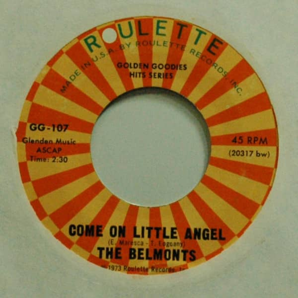 Come On Little Angel b-w I Need Someone 7inch, 45rpm