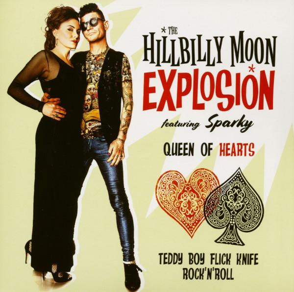 Queen Of Hearts - Teddy Boy Flick Knife Rock'n'Roll (7inch, 45rpm, SC)
