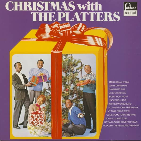 Christmas With The Platters (LP)