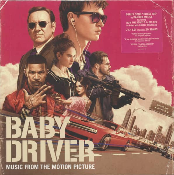 Baby Driver - Music From The Motion Picture (2-LP & Download)