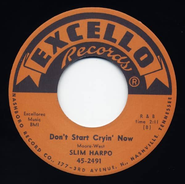 Bobby Sox Baby - Don't Start Cryin' Now 7inch, 45rpm