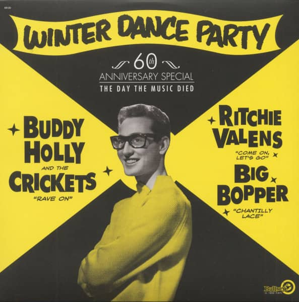 Winter Dance Party - 60th Anniversary Special (LP, White Vinyl)
