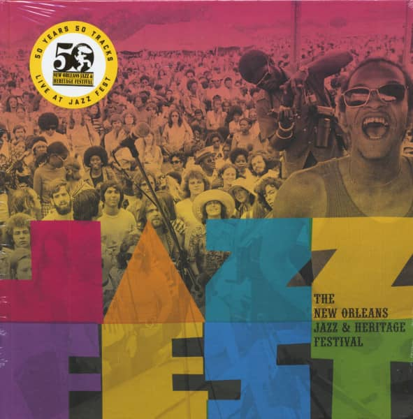 The New Orleans Jazz & Heritage Festival (5-CD)