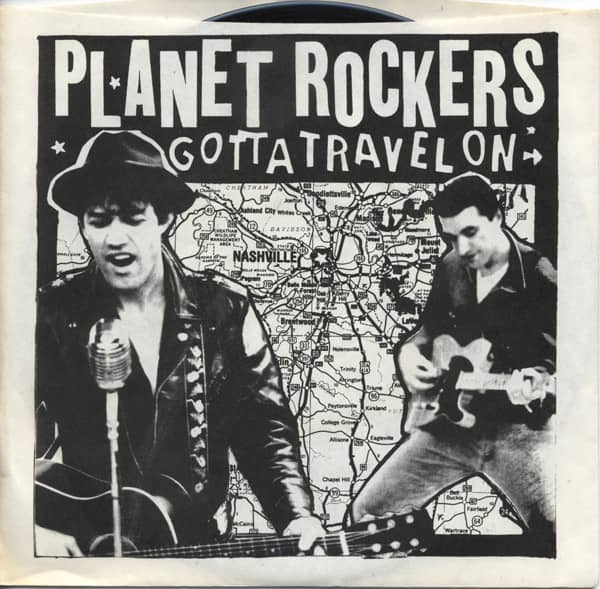 Gotta Travel On b-w Batteroo 7inch, 45rpm - picture sleeve