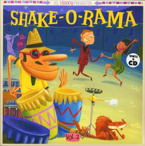 Shake-O-Rama Vol.2 (LP & CD)