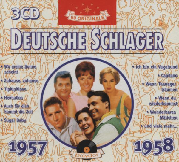 Deutsche Schlager 1957-58 (3-CD)