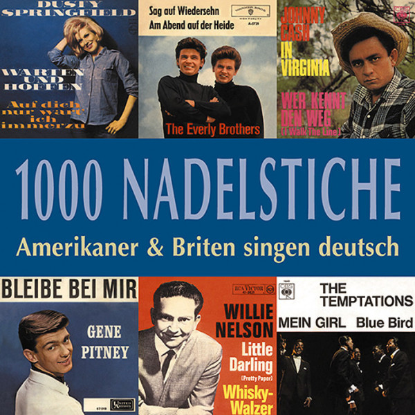 Vol.01, Amerikaner & Briten singen deutsch (CD)