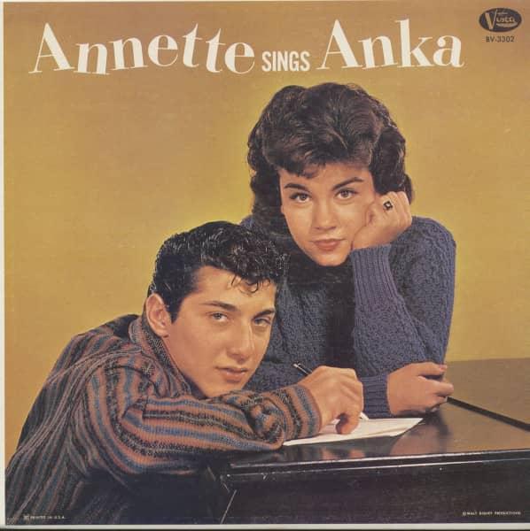 Annette Sings Anka (LP)