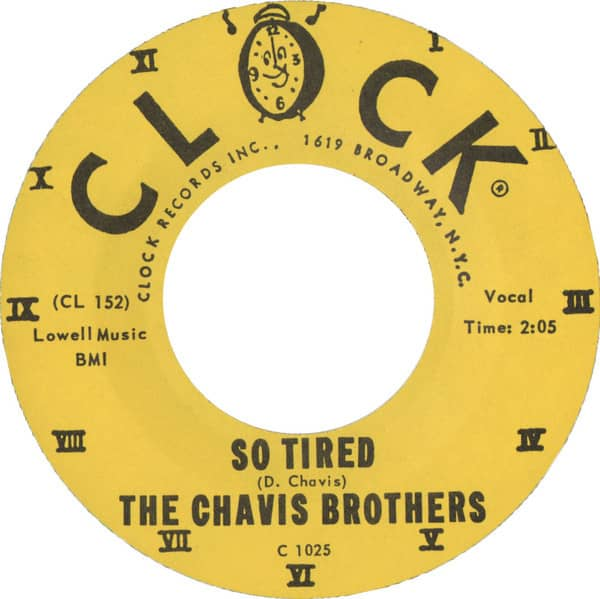 So Tired - I Love You (7inch, 45rpm)
