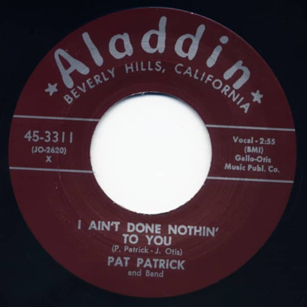 Hot Springs - I Ain't Done Nothin' To You 7inch, 45rpm