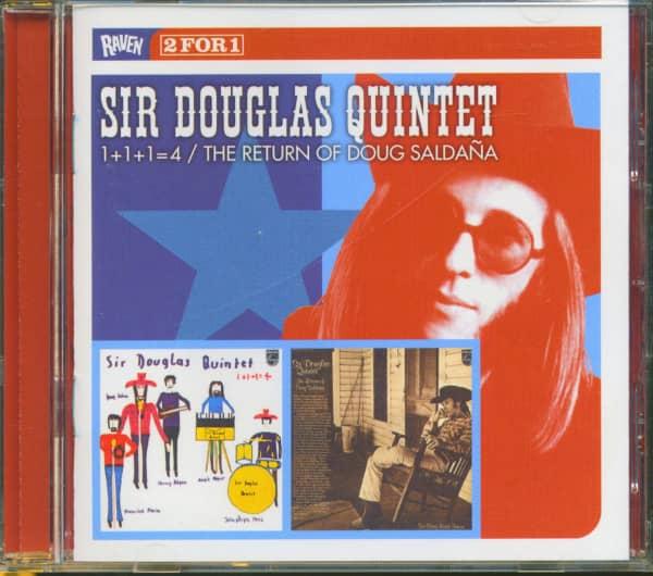 1+1+1=4 - The Return Of Doug Saldana (CD)