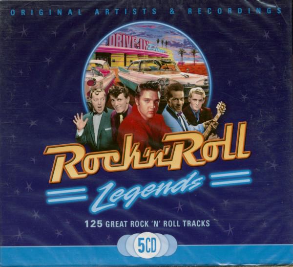 Rock 'N' Roll Legends (5-CD)