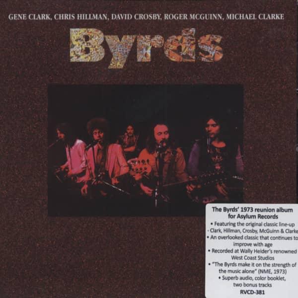 Byrds - The 1973 Reunion Album ... plus bonus tracks