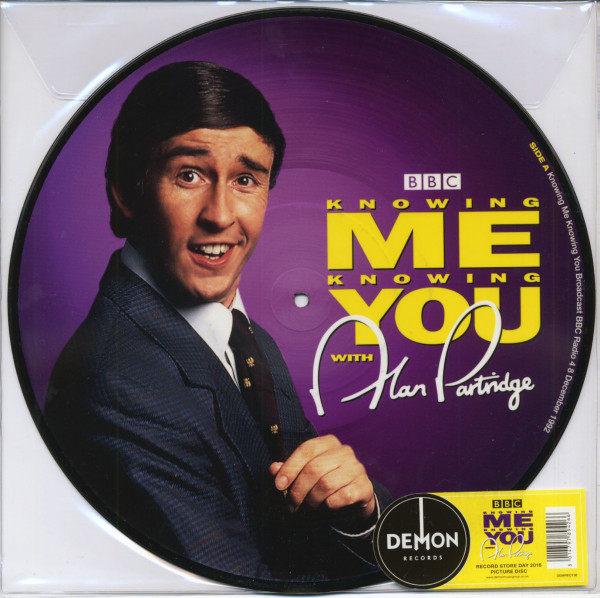 Knowing Me Knowing You With Alan Partridge (LP, Picture Disc, Ltd.)