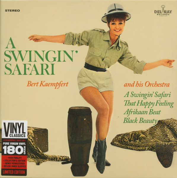 A Swingin' Safari (LP, 180g Vinyl, Ltd.)