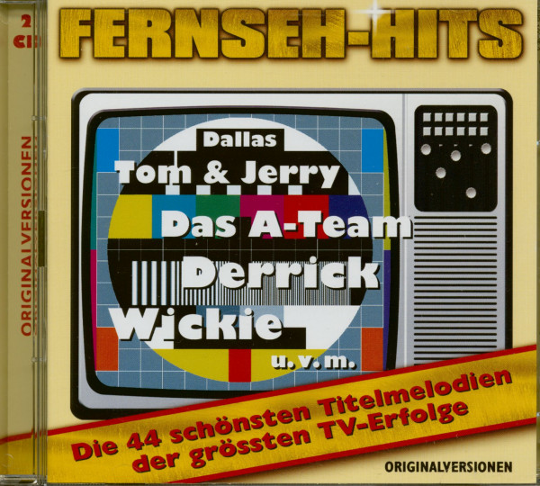 Fernseh-Hits Vo.1 (2-CD)