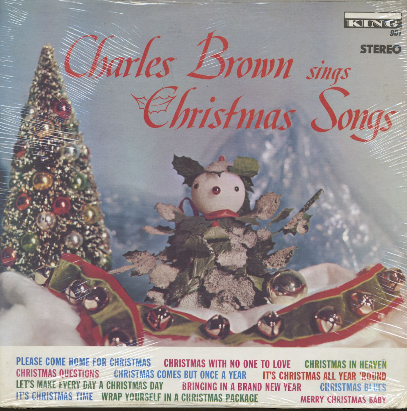 Charles brown please come home for christmas - Charles Brown Lp Charles Brown Sings Christmas Songs Lp Bear Family Records