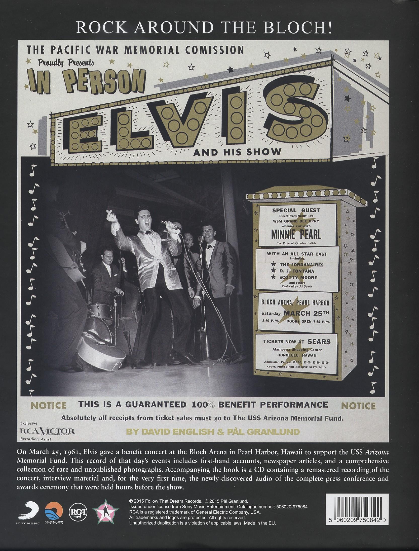 Elvis Presley B 252 Cher Books Rock Around The Bloch Hawaii