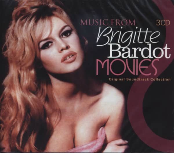 Music From Brigitte Bardot Movies (3-CD)