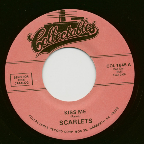 Kiss Me - Indian Fever (7inch, 45rpm)
