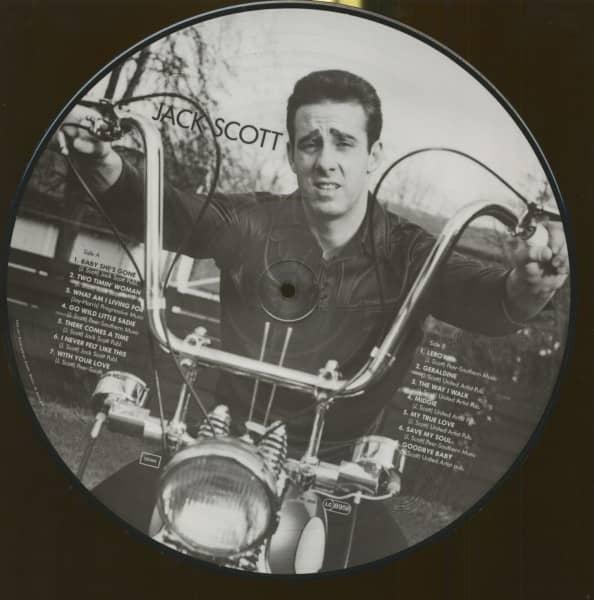 Jack Scott - Picture Disc (LP)