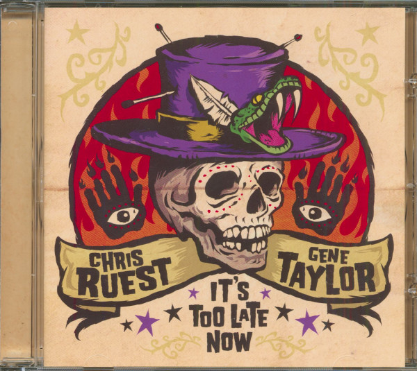 It's Too Late Now (CD)
