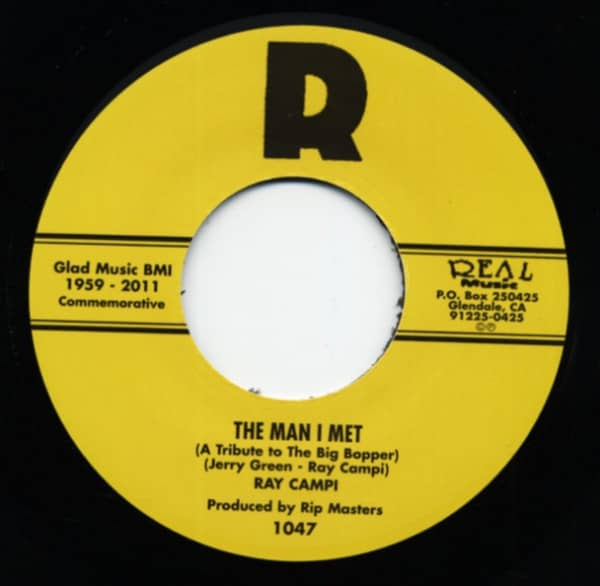 The Man I Met b-w Ballad Of Donna And Peggy Sue 7inch, 45rpm