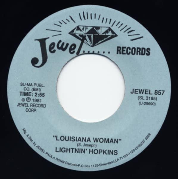 Louisiana Woman - War Is Started