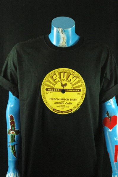 Folsom Prison (XXL) Black - Sun Logo