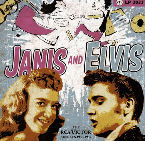 Janis & Elvis - The RCA Victor Singles 1956-58 10inch LP