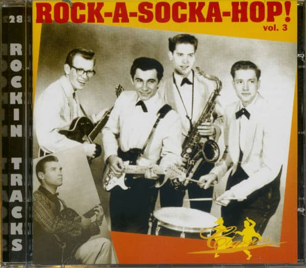 Rock-A-Socka-Hop! Vol.3 (CD)