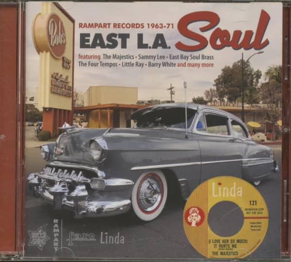 East L.A. Soul - Rampart Records 1963-71 (CD)