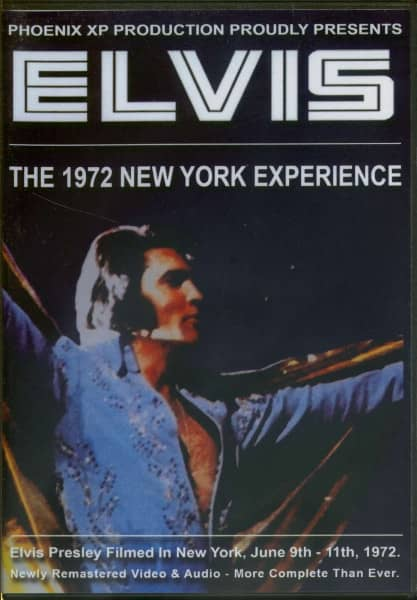 The 1972 New York Experience (DVD)