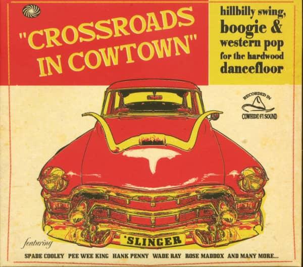 Crossroads In Cowtown (CD)