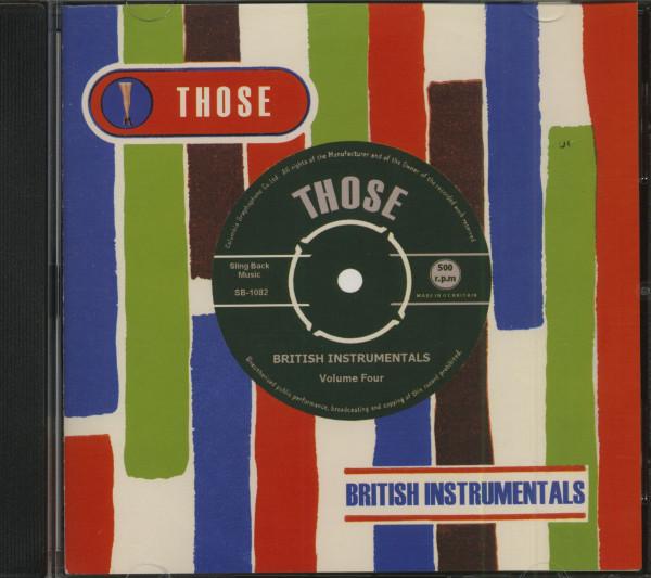 Those British Instrumentals Vol.4 (CD)