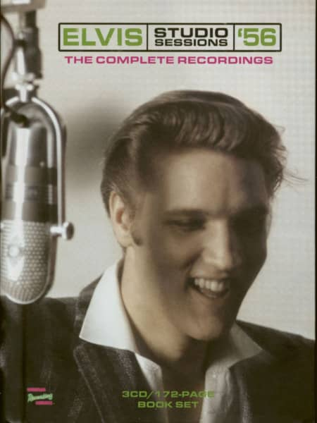 Elvis Studio Sessions '56 – The Complete Recordings (3-CD+Book)