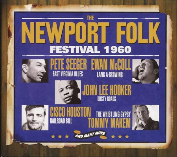 The Newport Folk Festival 1960 (3-CD)