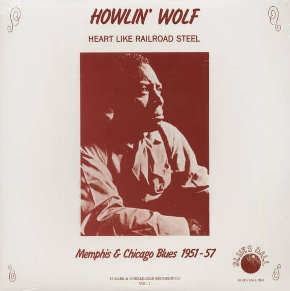 Heart Like Railroad Steel - Memphis & Chicago Blues 1951-57 (LP)