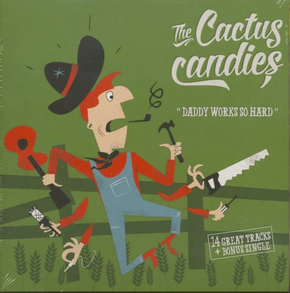 Daddy Works So Hard (CD & 7inch, 45rpm)
