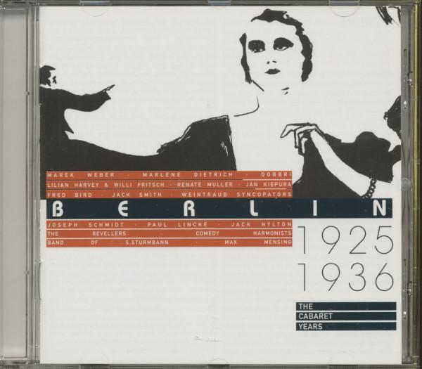 Berlin - 1925-36 - The Cabaret Years (CD)