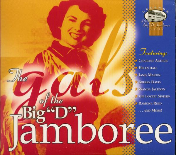 The Gals Of The Big 'D' Jamboree (CD, US)