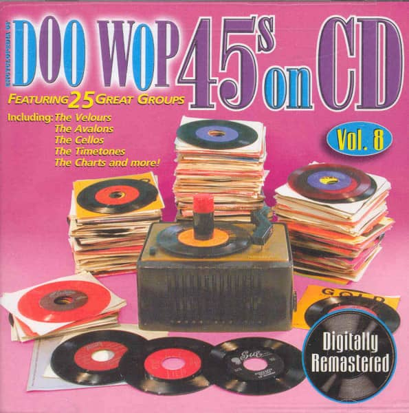 Vol.8, Doo Wop 45s On CD