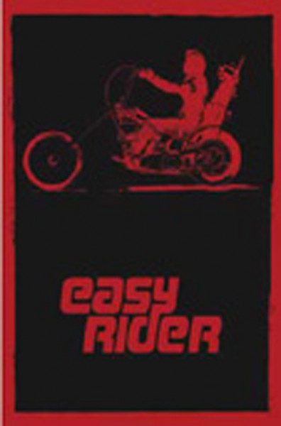 Easy Rider (Red & Black) 96x67 cm