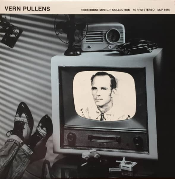 Vern Pullens - Rockhouse Mini LP Collection (LP, 12inch, 45rpm)