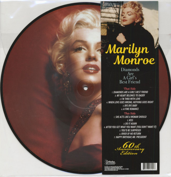 Diamonds Are A Girl's Best Friend - 60th Anniversary Edition (LP, Picture Disc)